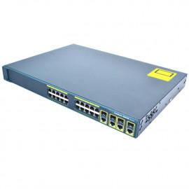 SWITCH CISCO CATALYST WS-C2960G-24TC-L V02 10/100