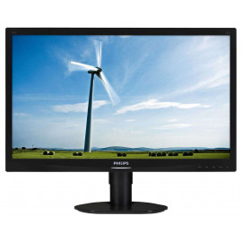 LCD 24'' PHILIPS 241S4L LED DVI 1920X1080 PIVOT