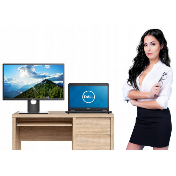 ZESTAW HOME OFFICE DELL E5470 i5 4GB 500 + LCD 22″