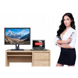 ZESTAW HOME OFFICE LENOVO X250 i5 128SSD + LCD 22″