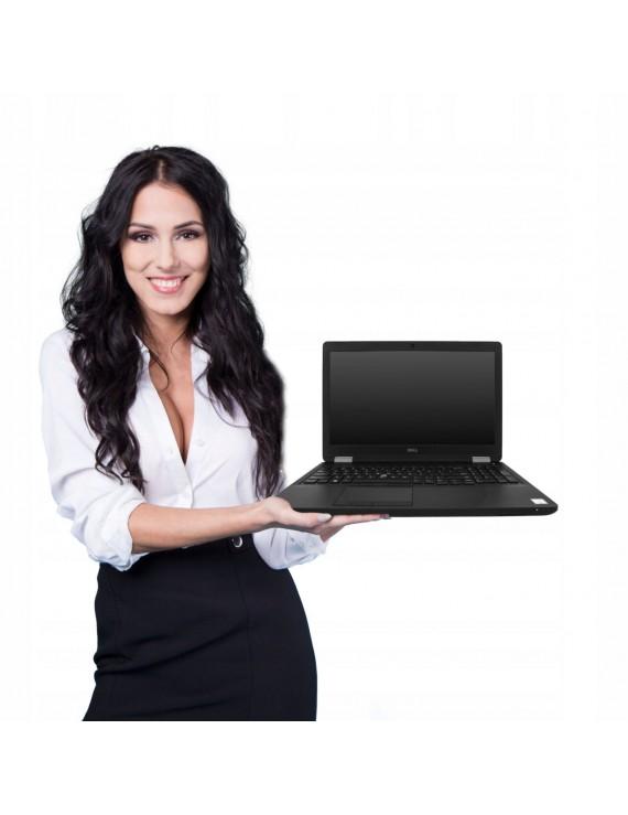 DELL 3510 i7-6700HQ 16GB 256 SSD W5130M FHD 10PRO