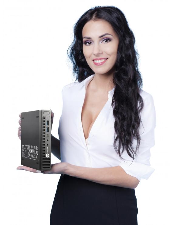 HP PRODESK 600 G2 MINI i3-6100T 4GB SSD 240GB W10P