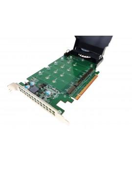 ADAPTER DELL DPWC400 4x M.2 DYSK SSD PCI-E X16