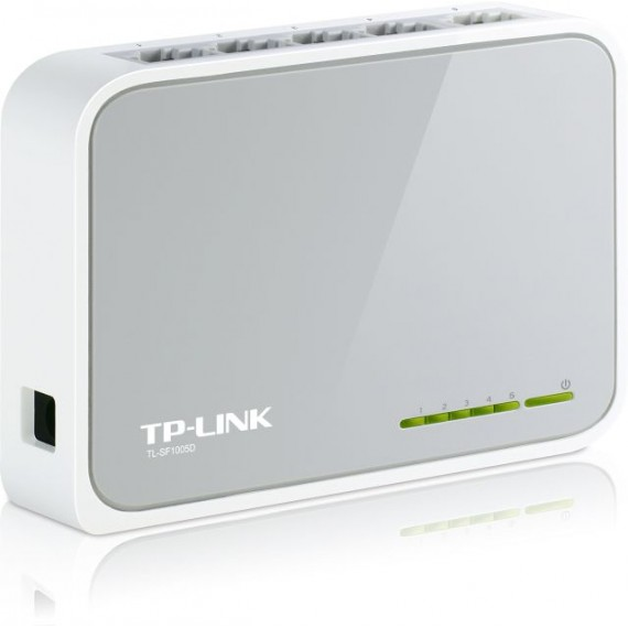 NOWY SWITCH TP-LINK TL-SF1005D 5 PORTÓW 10/100Mbps