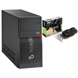 GRACZ FUJITSU P520 E85+ G3440 8GB 250 GTX1050 W10P