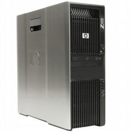 HP Z600 TW 2X XEON E5504 8GB 250GB DVD NVS295 10PL
