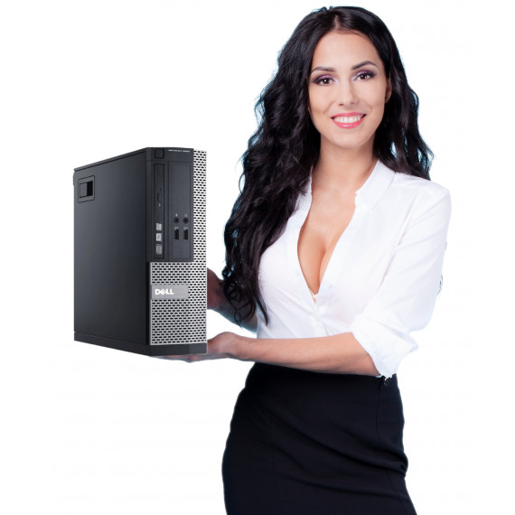 DELL 3020 SFF G3320 16GB NOWY SSD 120GB DVDRW W10P