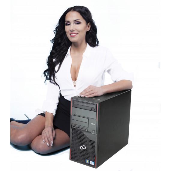 FUJITSU P720 TOWER i3-4130 4GB 250GB DVD W10 HOME