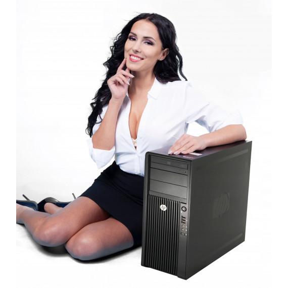 HP Z420 TOWER E5-1620 24GB 1TB DVDRW K4000 WIN10P