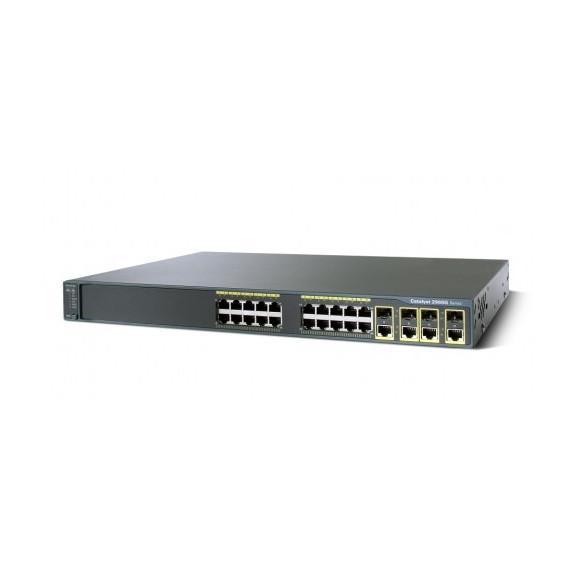 SWITCH CISCO CATALYST WS-C2960G-24TC-L V03 48 10/100/1000