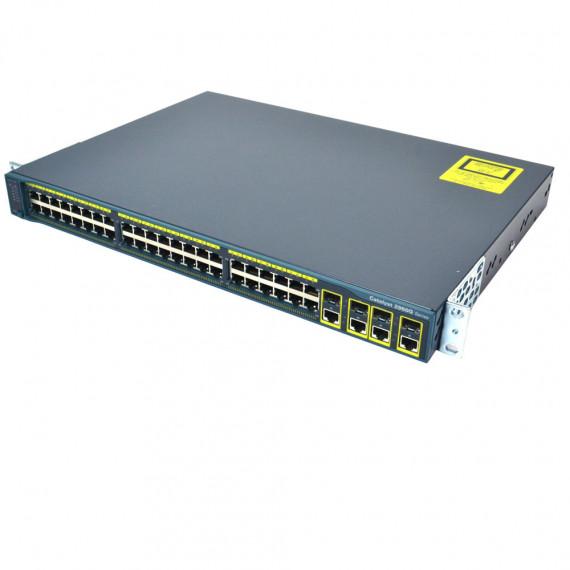 SWITCH CISCO CATALYST WS-C3750G-12S 12X SFP 1Gbit