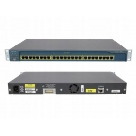 SWITCH CISCO CATALYST WS-C3750G-12S 12X SFP 1Gbit