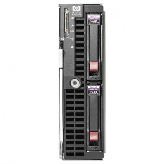 SERWER HP PROLIANT BL460C G6 2X XEON X5550 72GB