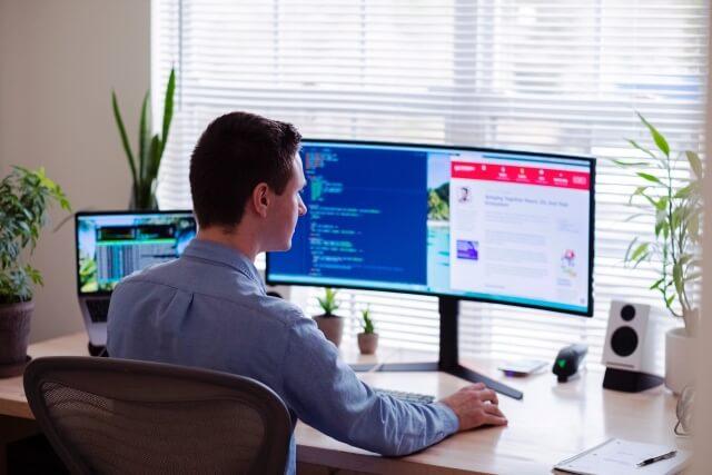 monitor do pracy zdalnej