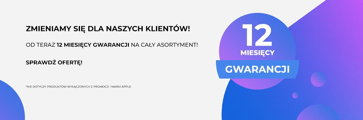 Shoplet.pl - 12 miesięcy gwarancji na cały asortyment!