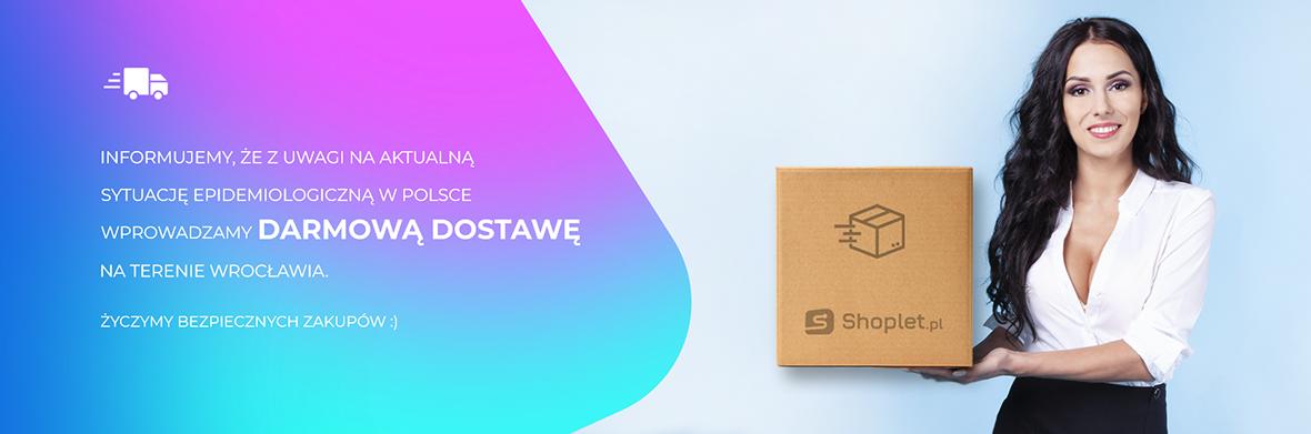 Shoplet.pl - Darmowa dostawa na terenie Wrocławia