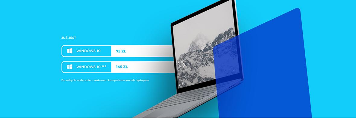 Shoplet.pl - Oferta na system operacyjny Windows 10